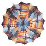 Regenschirm 8911 doppelt bespannt, schwarz