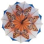 Regenschirm 8912 doppelt bespannt, dunkelblau