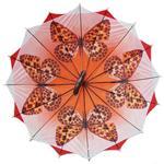 Regenschirm 8912 doppelt bespannt, rot