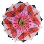 Regenschirm 8912 doppelt bespannt, schwarz