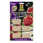 COMPO Balkon- und Kübelpflanzen Düngestäbchen mit Guano 30 Stück