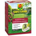 COMPO Floranid Rasendünger mit Unkrautvernichter 6 kg für ca. 200 qm
