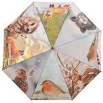Esschert Design TP209 Regenschirm Tiere Wintermotiv, 120x95 cm