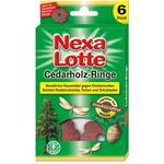 Nexa-Lotte Cedarholzringe gegen Kleidermotten 6 Stück