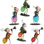Noor Living Solar Leuchte Ameisen-Figur, sortiert