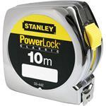 Stanley Bandmaß Powerlock Kunststoff 10 m / 25 mm Bandstärke
