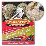 """Welzhofer Gourmetknödel """"der Beerige"""" Vogelfutter 6 x 100 g"""