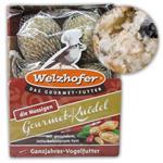 """Welzhofer Gourmetknödel """"der Nussige"""" Vogelfutter 6 x 100 g"""