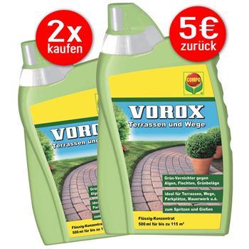 2 x COMPO VOROX Terrassen und Wege - 5€ CASHBACK AKTION!