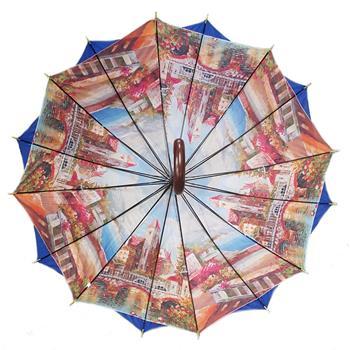 Regenschirm 8911 doppelt bespannt, dunkelblau