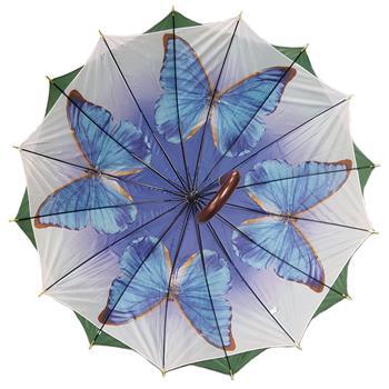 Regenschirm 8912 doppelt bespannt, grün