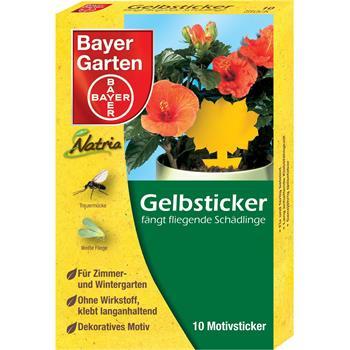 Bayer Natria Gelbsticker 10 Stück