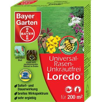 bayer universal rasenunkrautfrei loredo 40 ml ebay. Black Bedroom Furniture Sets. Home Design Ideas