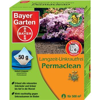bayer langzeit unkrautfrei permaclean 500 g 10 x 50 g ebay. Black Bedroom Furniture Sets. Home Design Ideas