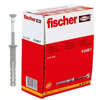 Fischer Nageldübel N 8x80/40 S (50 Stück)