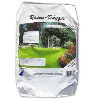 Rasendünger mit Sofort und Langzeitwirkung 25 kg