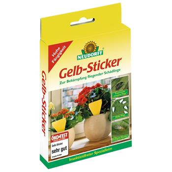 Neudorffs gelb sticker for Neudorff gelbsticker