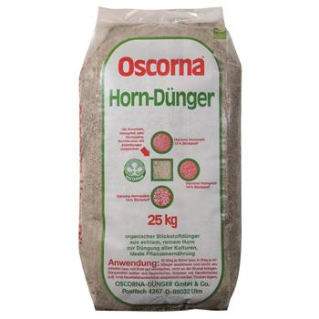OSCORNA Hornmehl Horndünger 25 kg