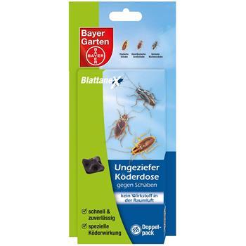 Bayer Blattanex Ungeziefer-Köderdose gegen Schaben 2 Stück
