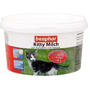 beaphar kitty milch 200g muttermilchersatz f r katzen. Black Bedroom Furniture Sets. Home Design Ideas