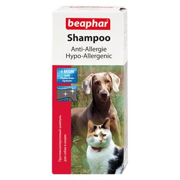 beaphar anti allergie shampoo f r hunde und katzen 200 ml. Black Bedroom Furniture Sets. Home Design Ideas