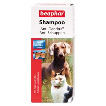 beaphar anti schuppen shampoo f r hunde und katzen 200ml. Black Bedroom Furniture Sets. Home Design Ideas