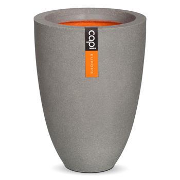 capi blumenk bel tutch vase gro 36x47cm grau. Black Bedroom Furniture Sets. Home Design Ideas
