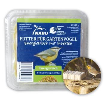 CJ Wildlife Energieblock für Wildvögel mit Insekten 300g