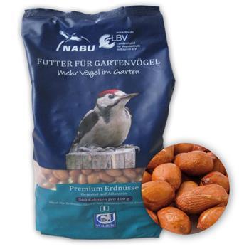 CJ Wildlife Wildvogel-Futter Premium Erdnüsse 2 kg