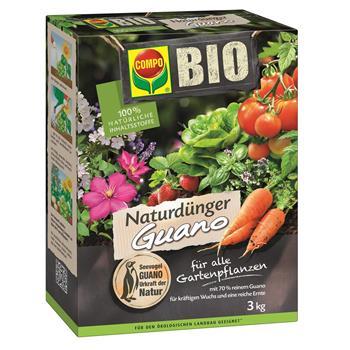 COMPO Bio NaturDünger Guano 3 kg