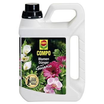 COMPO Blumendünger mit Guano flüssig 2,5 Liter