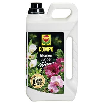 COMPO Blumendünger mit Guano flüssig 5 Liter