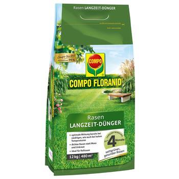 COMPO Floranid Rasen-Langzeitdünger 12 kg für 400 qm