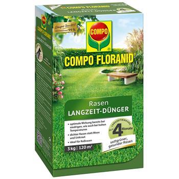 COMPO Floranid Rasen-Langzeitdünger 3 kg für 100 qm