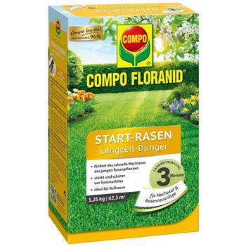 COMPO Floranid Start Rasen-Dünger 1,25 kg für 50qm