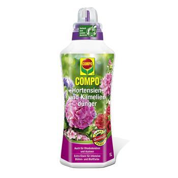 COMPO Hortensien- und Kameliendünger 1 Liter