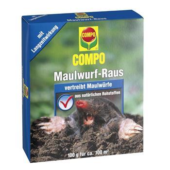 COMPO Maulwurf-Raus 2 x 50 g