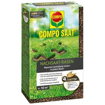 COMPO SAAT Nachsaat-Rasen 1 kg für 50 m²