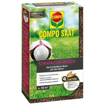 COMPO SAAT Strapazier-Rasen 1 kg für 50 m²