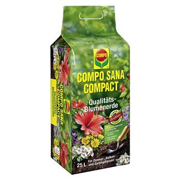 COMPO SANA COMPACT Blumenerde 25 Liter