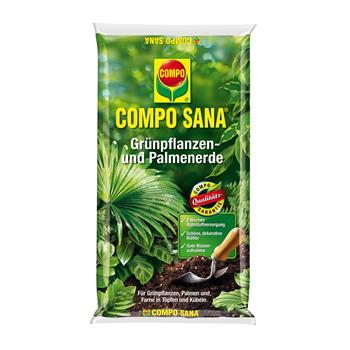 COMPO SANA Grünpflanzen- und Palmenerde 10 Liter