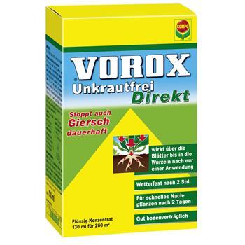 Compo Vorox Unkrautfrei Direkt 130 ml für 260m²