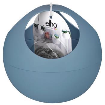 elho soft air blumentopf vintage blau zum h ngen blumenampel 18x18x16cm ebay. Black Bedroom Furniture Sets. Home Design Ideas