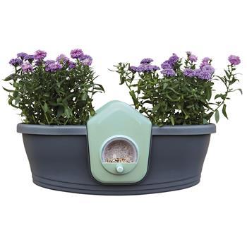 elho corsica bird feeder blumenkasten mit. Black Bedroom Furniture Sets. Home Design Ideas
