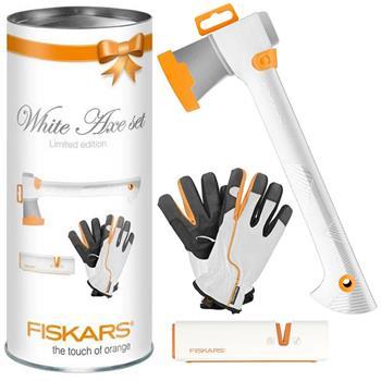 fiskars white axe set 129040 limited edition axt xsharp. Black Bedroom Furniture Sets. Home Design Ideas