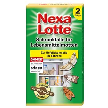 Nexa-Lotte Schrankfalle für Lebensmittelmotten 2 Stück