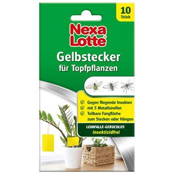 Nexa-Lotte Gelbstecker 10 Stück