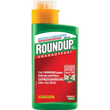 Roundup AC Konzentrat 400 ml für 220 m²