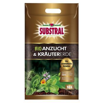 Substral Bio Anzucht- und Kräutererde 10 Liter