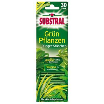 Substral Dünger-Stäbchen für Grünpflanzen 30 Stück